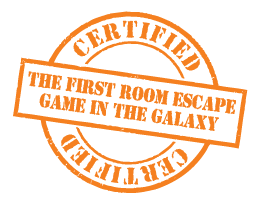 The first room escape game in the galaxy